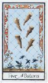 Dagens tarot-kort: Fem staver