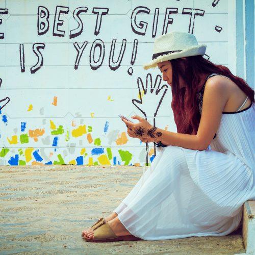Lær deg å elsk deg selv og skap din egen lykke